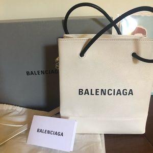 Balenciaga XXS calf skin shopping tote
